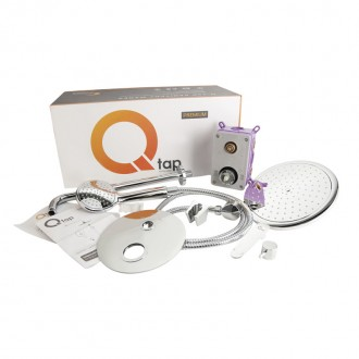 Душевая система скрытого монтажа Q-tap Inspai-Varius CRM V10250102 цена