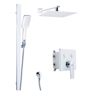 Душевая система скрытого монтажа Q-tap Inspai-Varius CRM V20250102 цена