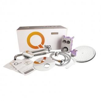 Душевая система скрытого монтажа Q-tap Inspai-Varius CRM V20940102 цена