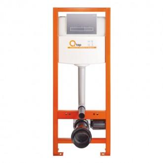 Инсталяция Q-tap Nest M425-M08SAT с панелью смыва Satin цена