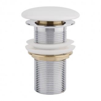 Донный клапан Q-tap F008 WHI Pop-up без перелива цена