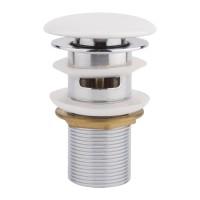 Донный клапан Q-tap F008-1 WHI Pop-up с переливом