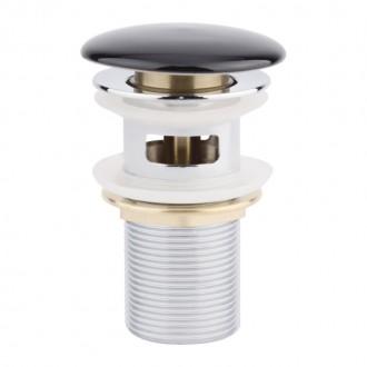 Донный клапан Q-tap F009-1 BLA Pop-up с переливом цена