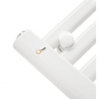 Водяной полотенцесушитель Q-tap Dias (WHI) P18 1000x500 HY цена