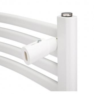 Водяной полотенцесушитель Q-tap Dias (WHI) P21 1200x500 HY цена