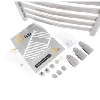 Водяной полотенцесушитель Q-tap Dias (SIL) P10 600x500 HY цена