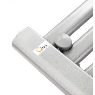 Водяной полотенцесушитель Q-tap Dias (SIL) P18 1000x500 HY цена