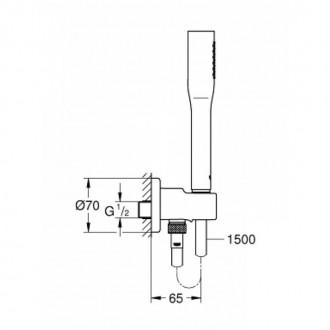 Душевой набор Grohe Euphoria Cosmopolitan Stick 26404000 цена