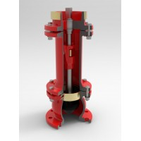 Гидрант пожарный подземный HDI (корпус высокопрочный чугун ) Н --- 0,50 м.