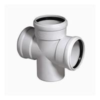 Крестовина для бесшумной канализации Rehau Raupiano Plus 110/110/110 45°