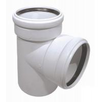 Тройник Poliplast 110х110х45 для бесшумной канализации