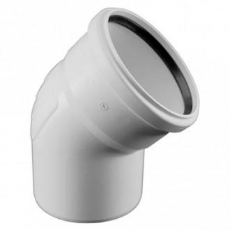 Колено для бесшумной канализации Rehau Raupiano Plus DN 160, 15° цена