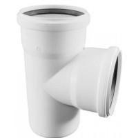 Тройник Rehau Raupiano Plus 110х110х45° для бесшумной канализации