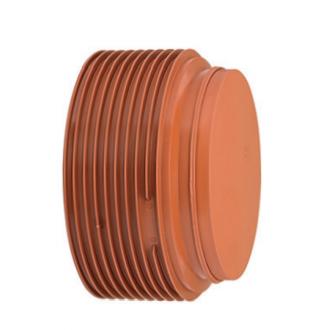 Заглушка ПВХ для гофрированных труб InCor 500 мм цена