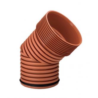 Колено гофрированное для наружной канализации InCor 160х30 цена