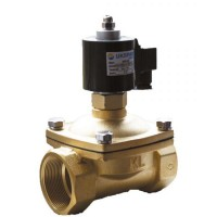 Электромагнитный клапан нормально закрытый муфтовый латунный, Ду 10 / VITON / PN7