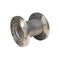 Компенсатор осевой фланцевый стальной, Ду 100 / L30 / PN16