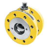 Кран шаровой стальной фланцевый полнопроходной EFAR, Ду 100 / PTFE / Шток - Сталь / PN40