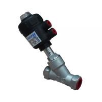 Пневматический клапан муфтовый нержавеющий, Ду 15 / PTFE / PN8